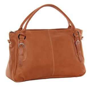 Piel Leather Large Crossbody Handbag