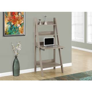 Computer Desk/Dark Taupe Ladder Style|https://ak1.ostkcdn.com/images/products/10951462/P17977709.jpg?impolicy=medium