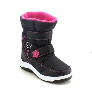 VIA PINKY SCARLETT-52F Girl's Flower Snow Boots