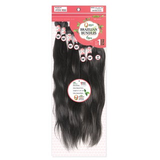 Brazilian Unprocessed Virgin 7-piece Natural Wave Remy Hair