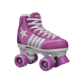 Epic Star Pegasus Purple Quad Indoor/ Outdoor High-Top Quad Roller Skates