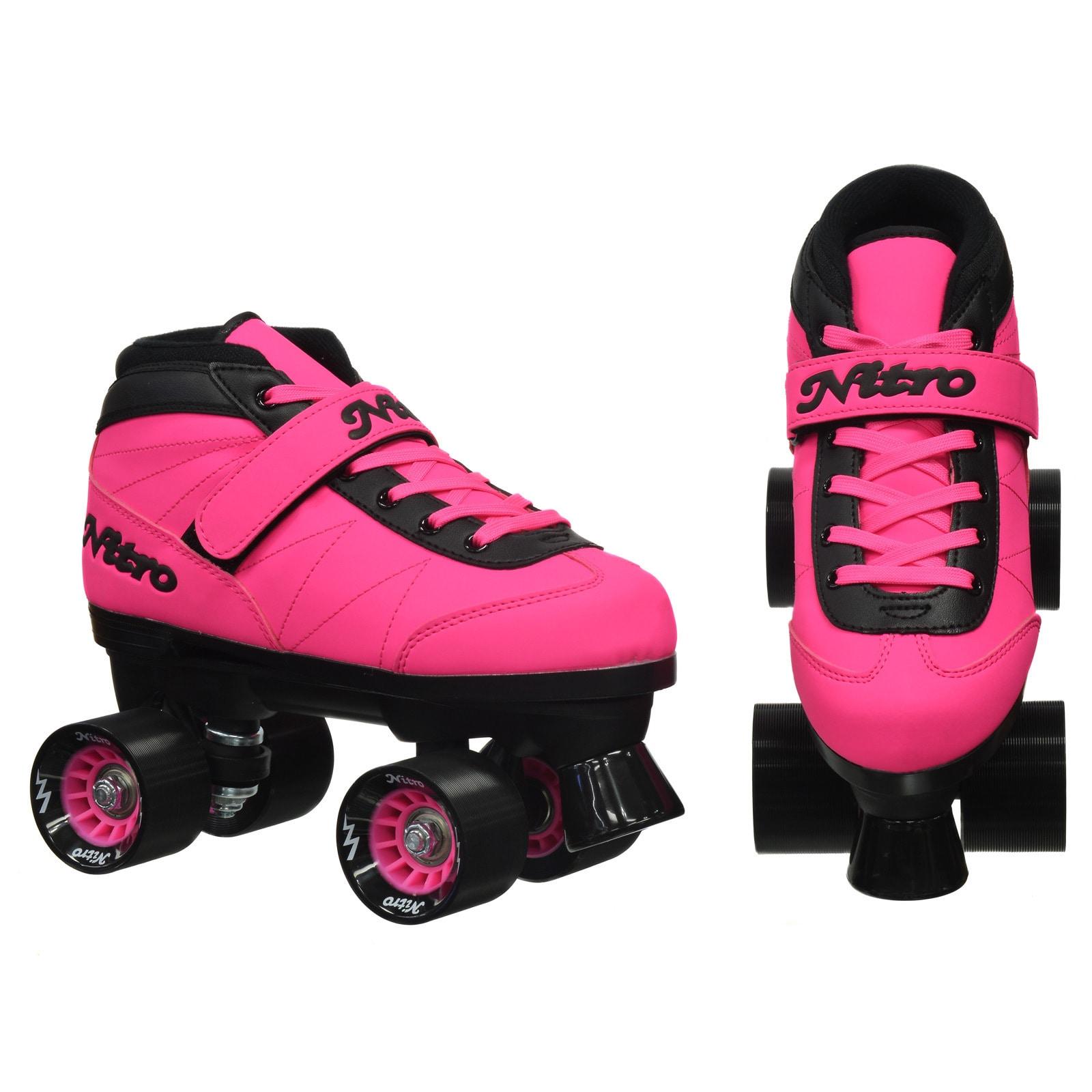Epic Skates 2016 Epic Nitro Turbo 5 Indoor//Outdoor Quad Speed Roller Skates
