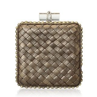 Jasbir Gill JG/SL/CL122 Brown Leather Clutch (India)
