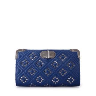 Jasbir Gill JG/SL/CL113 Blue Leather Clutch (India)