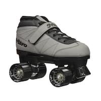Epic Nitro Turbo Grey Quad Speed Roller Skates