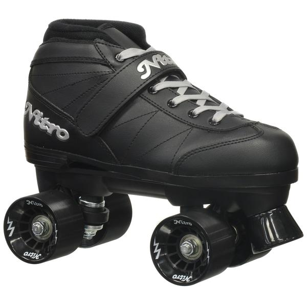 Epic Super Nitro Black Quad Speed Roller Skates