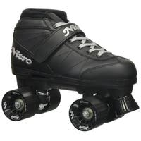 Epic Super Nitro Black Quad Speed Roller Skates