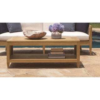 Brown Jordan Marin Wood Coffee Table