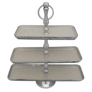 Casa Cortes Event Essentials Aluminum 3-Tier Server
