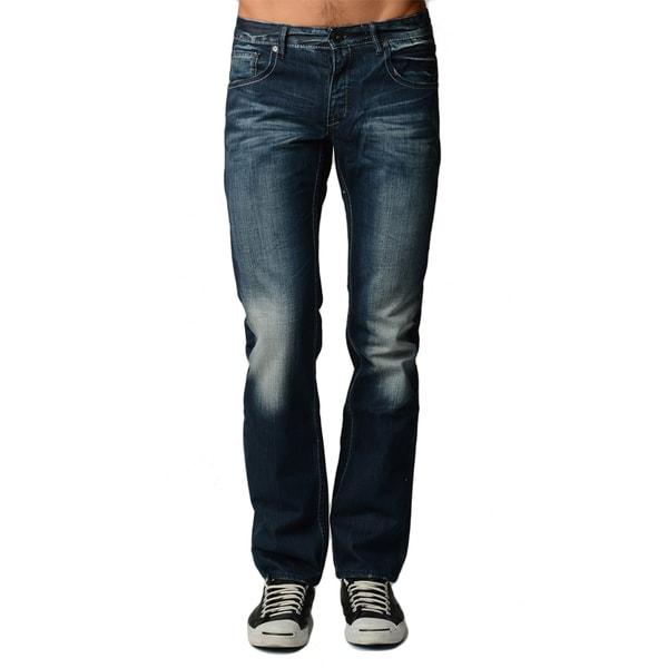 Dinamit Men's 5-Pocket Distressed Jeans - Medium