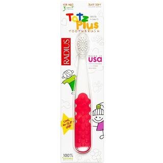 Radius Totz Plus Toothbrush for Ages 3+ (Various Colors)|https://ak1.ostkcdn.com/images/products/10951800/P17977941.jpg?impolicy=medium