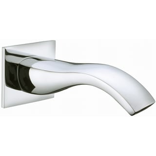 Dawn Wall Mount Tub Spout, Brushed Nickel Finished