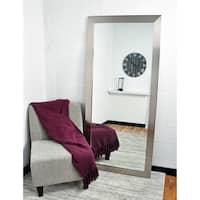 BrandtWorks USA Silver 32 x 71-inch Floor Mirror