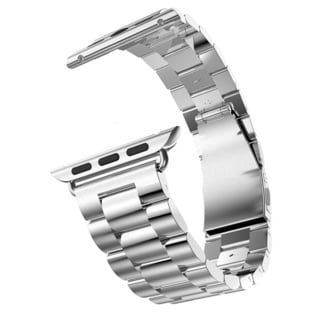 iPM Stainless Steel 38mm Replacement Link Watch Band for Apple Watch