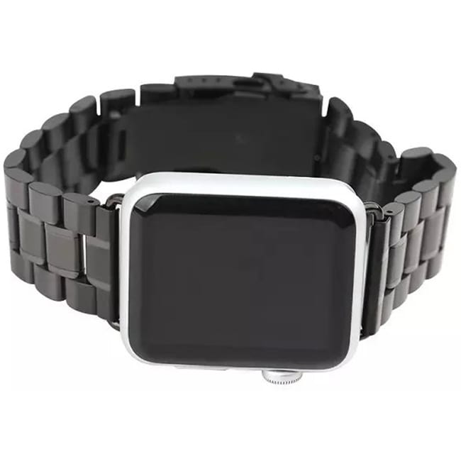 iPM Stainless Steel 42mm Replacement Link Watch Band for ...
