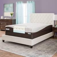 ComforPedic from Beautyrest 10-inch Twin-size Memory Foam Mattress Set