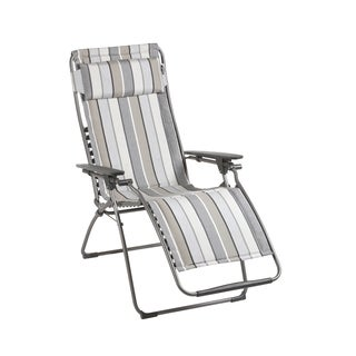 Lafuma Futura Zero Gravity Titane Steel Recliner with Sunbrella Fabric