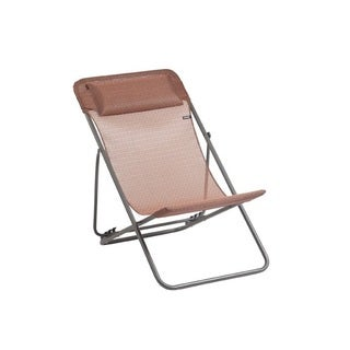 Maxi Transat Plus - Titane Steel Folding Sling Chair (Set of 2)