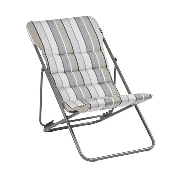 Strange Shop Lafuma Maxi Transat Folding Sling Chair With Sunbrella Bralicious Painted Fabric Chair Ideas Braliciousco