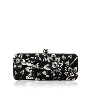 Jasbir Gill JG/SL/CL164 Black Leather Clutch (India)