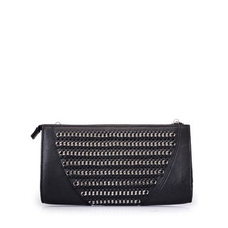 Jasbir Gill JG/SL/CL195 Black Leather Clutch (India)