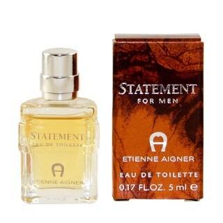 Etienne Aigner Statement Men's 0.17-ounce Eau de Toilette
