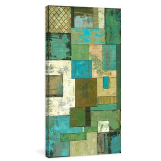Marmont Hill Julie Joy 'Fossil Infusion II' Painting Print on Canvas