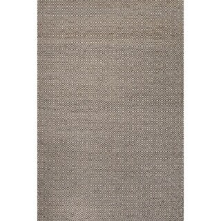 Merit Natural Geometric Tan/ White Area Rug (9' X 12')