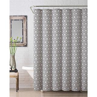 VCNY Melbourne Jacquard Shower Curtain