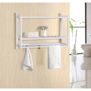 Gallerie Decor Natural Spa Bamboo Wall Organizer