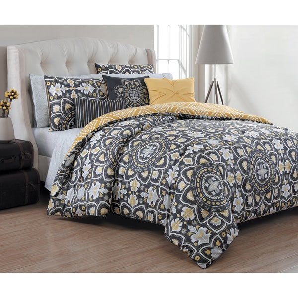 Avondale Manor Ibiza 10-piece Bed-in-a-Bag Set