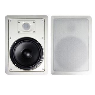 Acoustic Audio MT6 In Wall Speaker Pair 2 Way Home Theater 500 Watt MT6-PR
