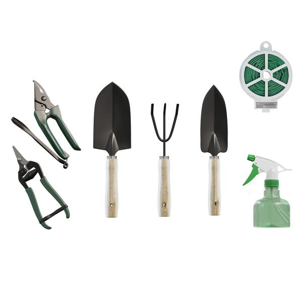 Shop 8 Piece Garden Tote And Tool Set Gardening Hand Tools By