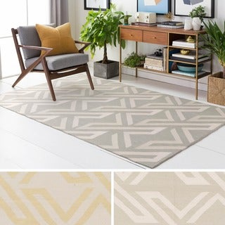 Hand-Woven Buckingham Viscose/Cotton Rug (6' x 9')