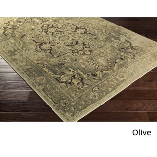 Burbank Area Rug (7'10 x 9'10) (Option: Olive)