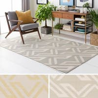 Hand-Woven Buckingham Viscose/Cotton Area Rug