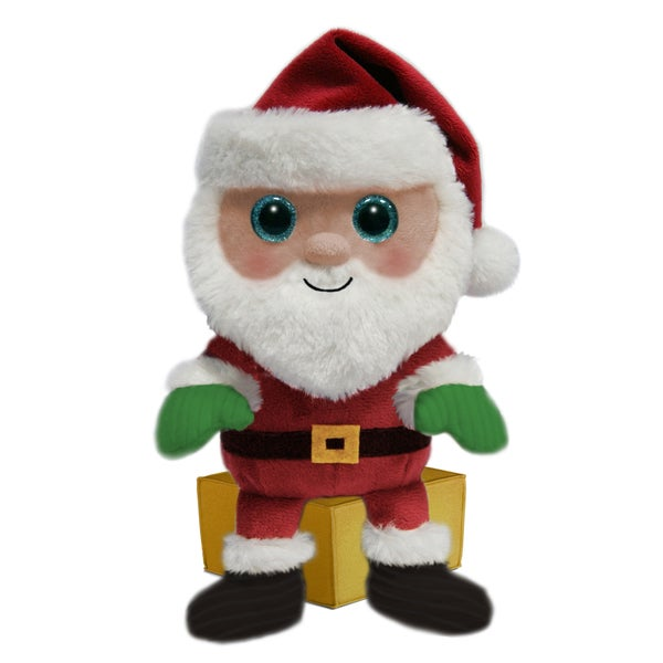 First & Main Stuffed Holiday Santa