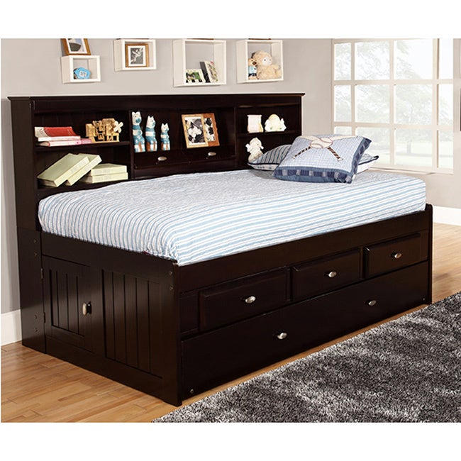 American Twin 3-Drawer Daybed and Twin Trundle (Twin trun...