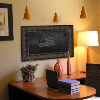 American Made Rayne Feathered Accent Blackboard/Chalkboard