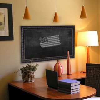 American Made Rayne Dark Embellished Blackboard/Chalkboard