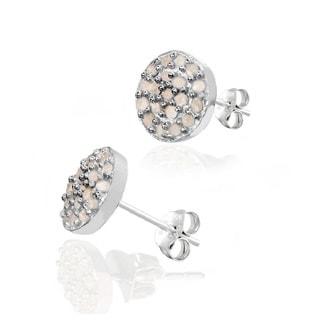 Pori Sterling Silver 2/5ct TDW Diamond Stud Earrings (H-I, I1-I2)