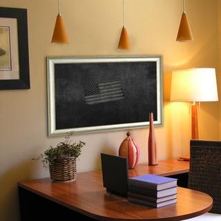 American Made Vintage Silver Blackboard/Chalkboard