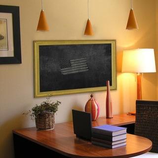American Made Vintage Gold Blackboard/Chalkboard