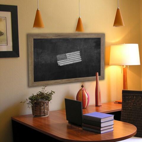 American Made Rayne Brown Blackboard/ Chalkboard