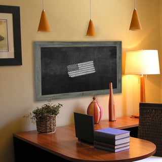 American Made Rayne Grey Blackboard/ Chalkboard