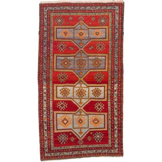 ecarpetgallery Caucasus Shirvan Red Wool Rug