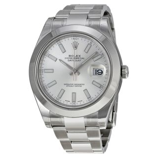 Rolex Men's Datejust II Silver Dial Watch