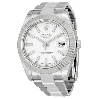 Rolex Men's Datejust II White Dial Watch