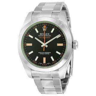 Rolex Men's Milgauss Black Dial Watch