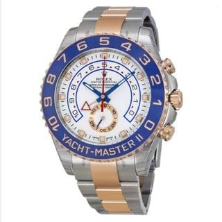 Rolex Men's Yacht-Master White Dial Watch